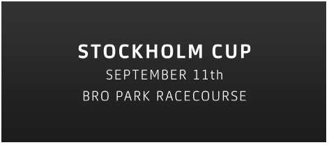 Stockholm Cup September 11th